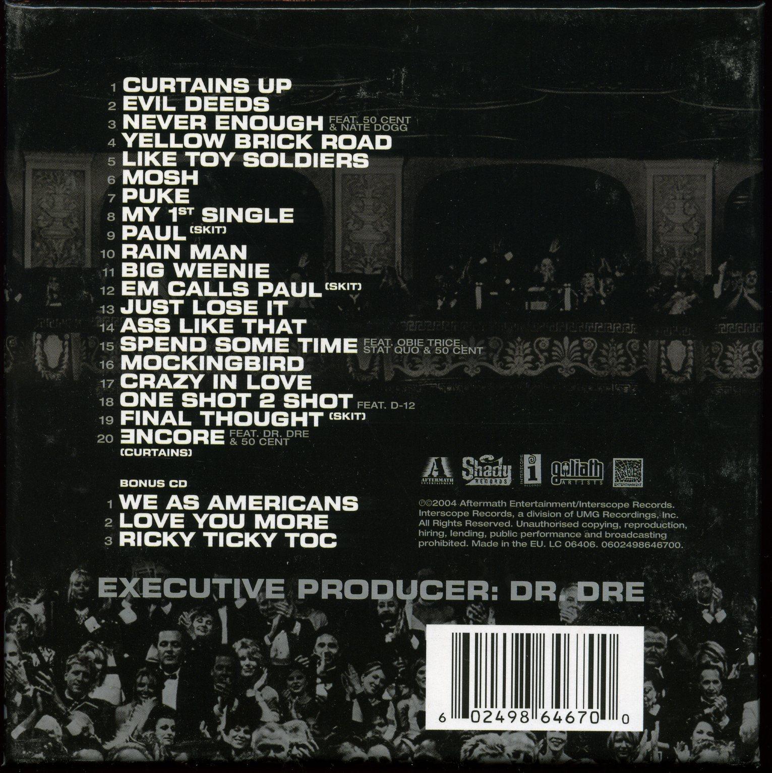 Eminem encore special edition