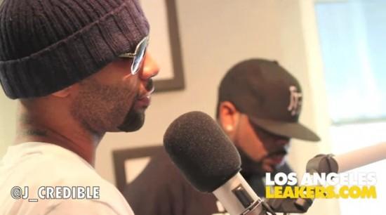 Интервью группы Slaughterhouse в LA Leakers на радио Power 106