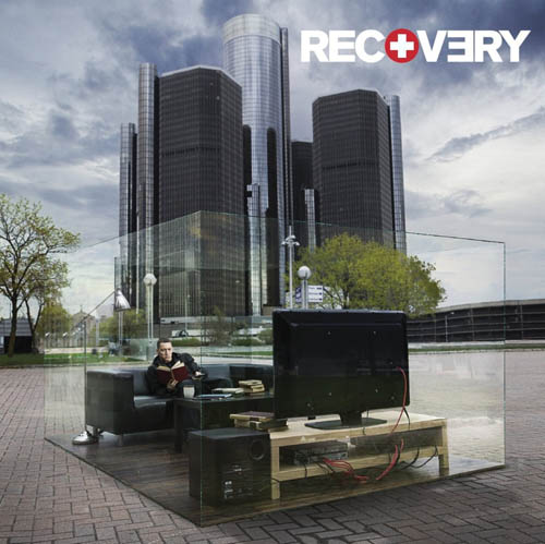 Eminem Recovery Front