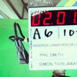 Фотографии сосъёмок клипа Kendrick Lamar— «The Recipe»