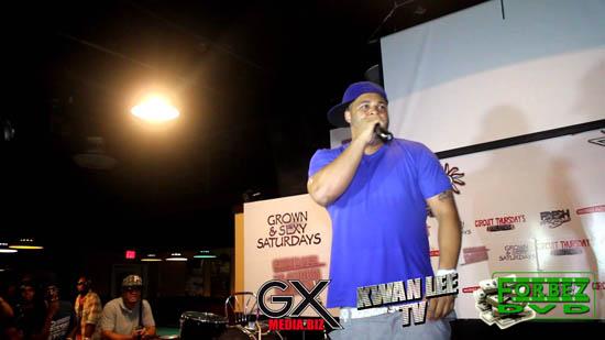Joell Ortiz выступил на Guz Sports Bar в Бруклине