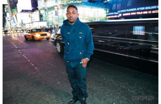 Kendrick Lamar complex feb march 2012 issue