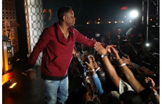 Выступление Kendrick Lamar в Santos House Party