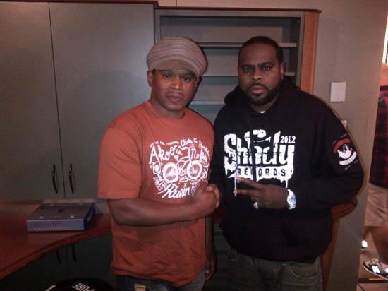 Eminem & Slaughterhouse дали интервью на Shade45 [9 августа]