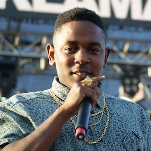 Kendrick Lamar выступил на фестивале Rock The Bells 2012