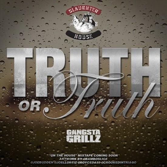 Новый трек с микстейпа группы Slaughterhouse и DJ Drama - Truth Or Truth