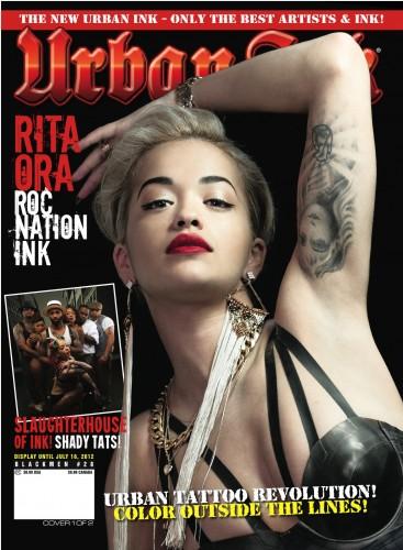 Slaughterhouse и Rita Ora на обложке журнала «Urban Ink Magazine»