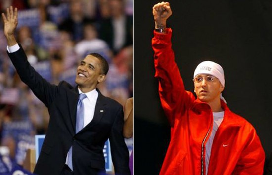 Eminem Obama