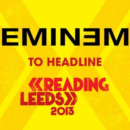 Eminem Reading and Leeds Festival 2013