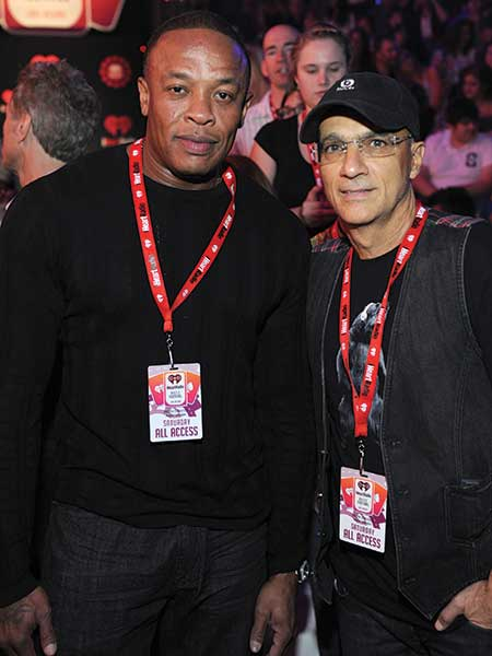 Dr. Dre and Jimmy Iovine