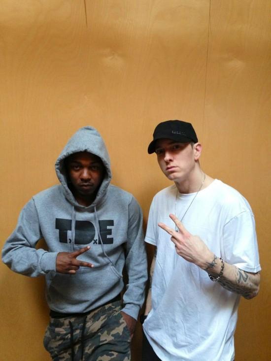 Kendrick Lamar and Eminem