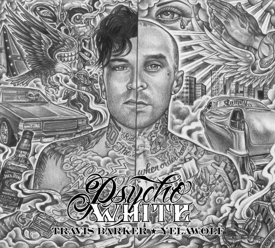 Yelawolf - Psycho White (Front Cover)