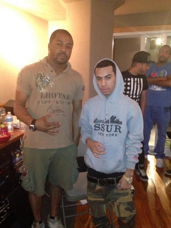 Just Blaze и araabMuzik в Нью-Йорскойстудии Slaughterhouse