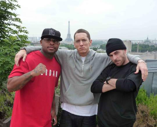 Royce Da 5'9'', Eminem and Alchemist