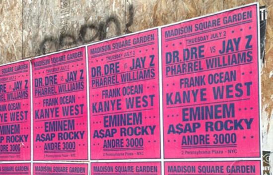 Why is André Saraiva Putting Up Fake Daft Punk, Eminem and Kanye West Posters in Paris, New York, and Los Angeles