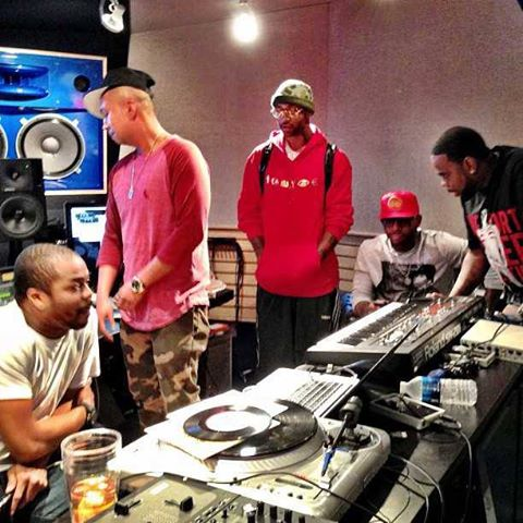 Just Blaze and Slaughterhouse (HouseGang)