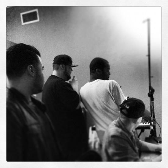 Slaughterhouse в студии за работой над третьим альбомом