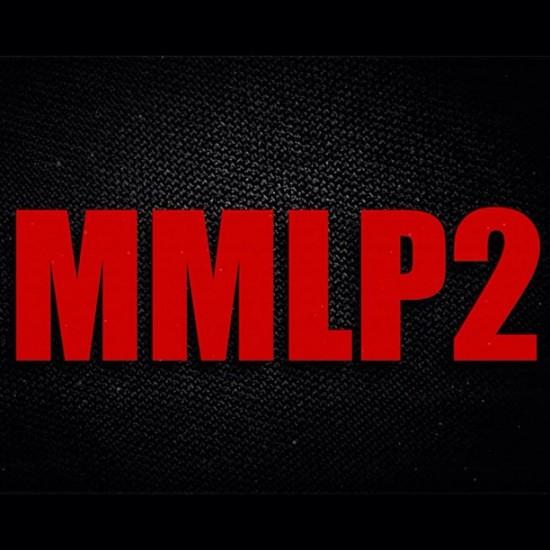 Eminem MMLP2 Cover