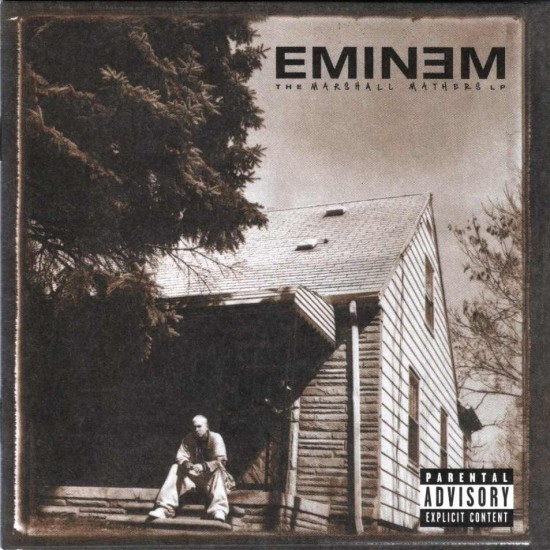 Marshall Mathers LP cover