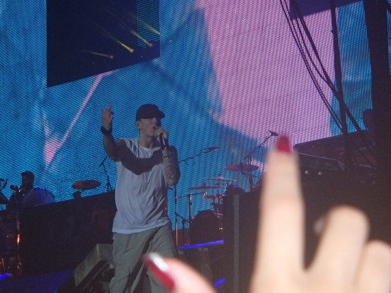 Eminem live @ Stade de France, Paris 2013