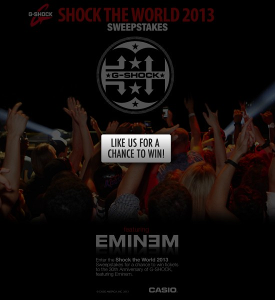 Shock The World 2013 Eminem 2