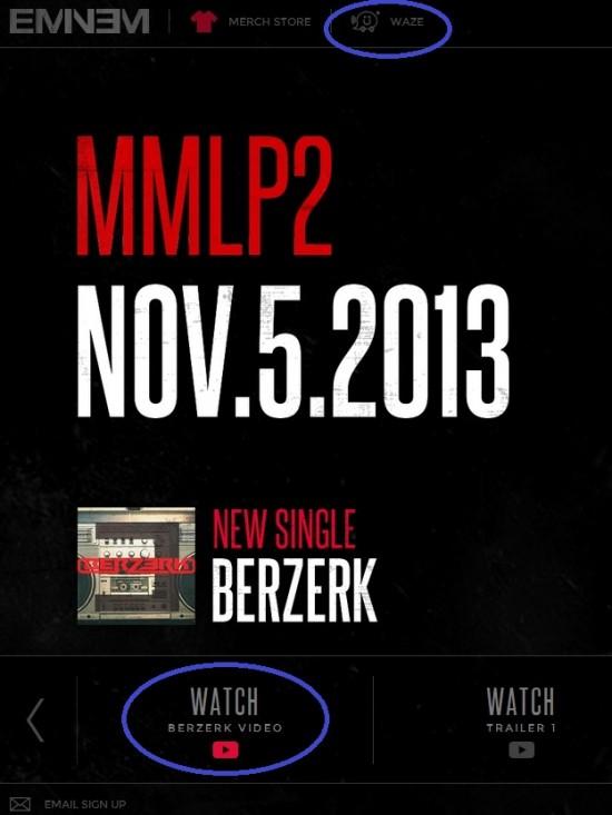 Eminem New Site 2