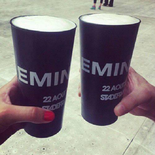 Eminem @ Stade de France 2013 Merch