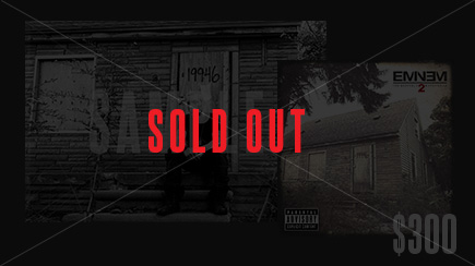 Eminem MMLP2 Sold Out