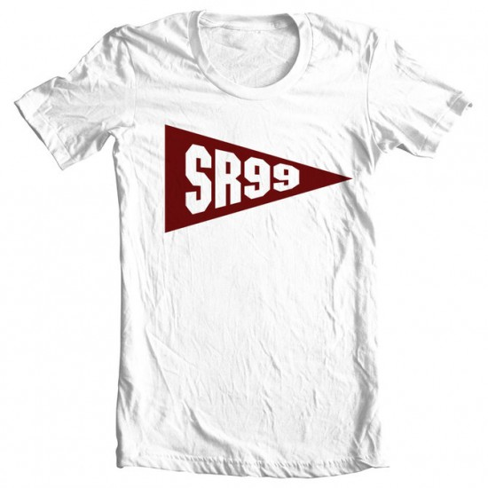 06 Shady Records - SR99 Banner Shirt (White)