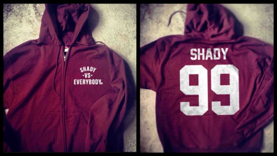 09 Shady Vs. Everybody Zip-Up Champion Hoodie