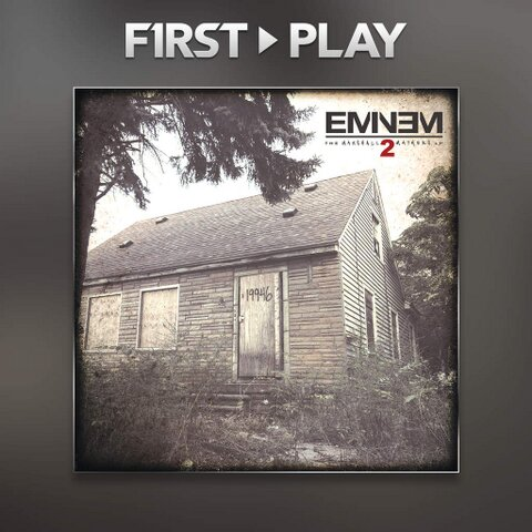 2013.11.01 - Eminem MMLP2 Stream it legally iTunes Radio