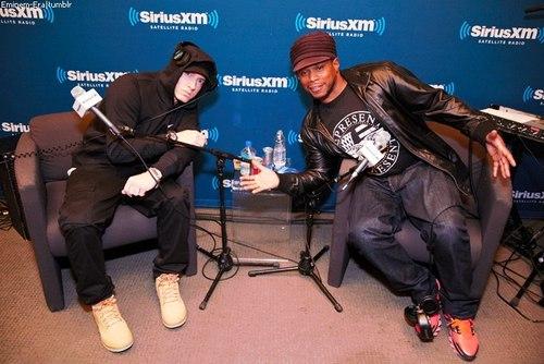 """Eminem - SiriusXM's """"Town Hall"""" @ Shade45"""