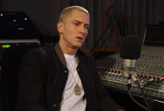 2013.11.19 - Eminem. Zane Lowe. Part 2.