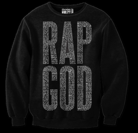 2013.11.20 - New Eminem limited RapGod merch
