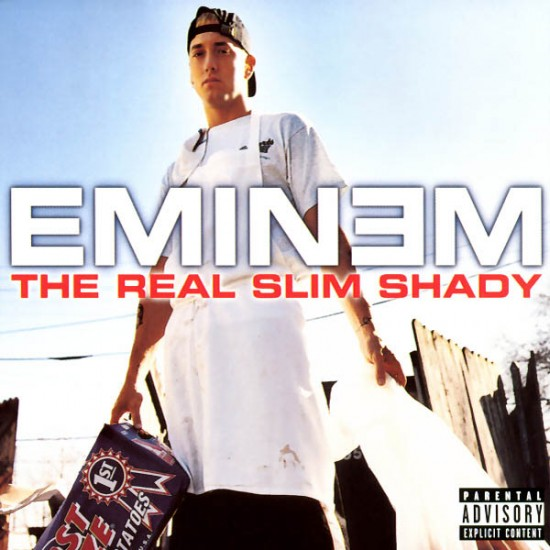 Eminem The Real Slim Shady Single Cover