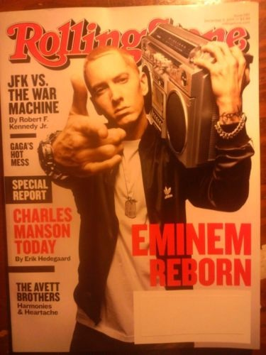 Eminem Rolling Stone 4 December 2013