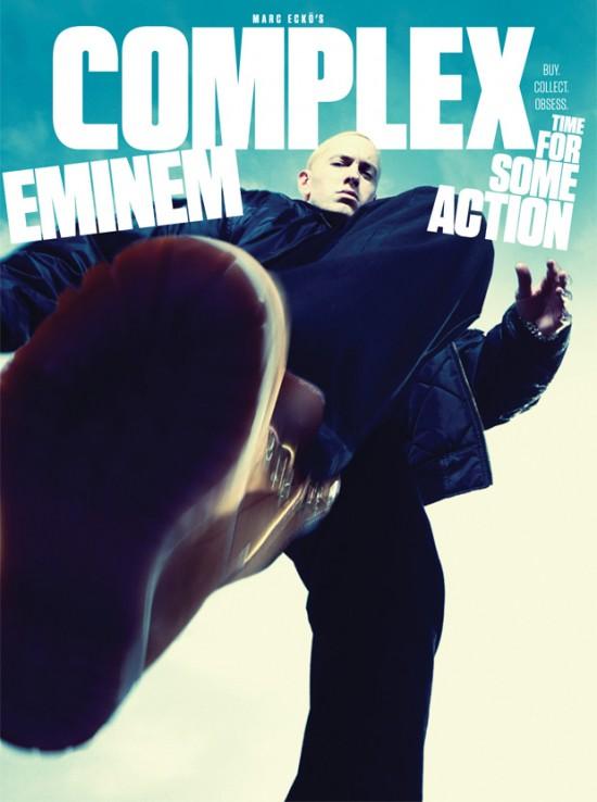 Eminem на обложке декабрьского журнала Complex 2