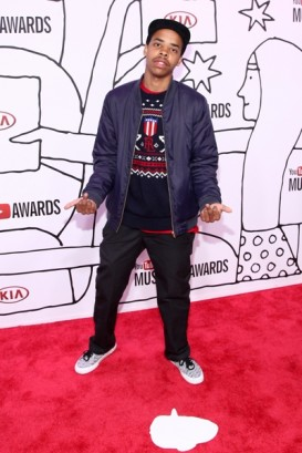 Earl Sweatshirt attends the 2013 YouTube Music Awards, November 3, 2013 in New York City