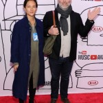 Christina Topsoe & James Murphy attend the 2013 YouTube Music awards, November 3, 2013 in New York City