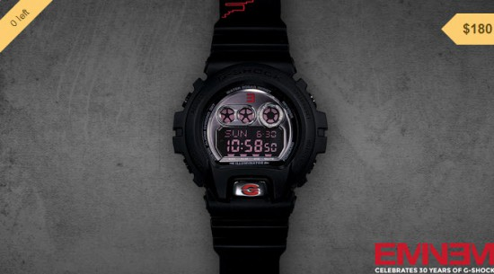 08-01-2014 3-17-52 Eminem Limited Edition Shady Records G-Shock Watch (Unsigned)