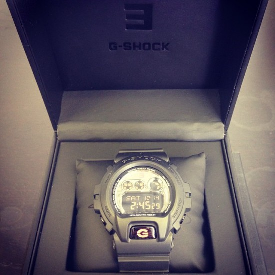 Eminem 2014.01.06 - G-Shock limited edition