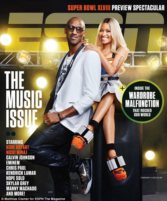 2014.01.22 - Nicki minaj ESPN Cover 2014