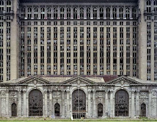 Детройтский вокзал. Взлёт и падение Детройта. Detroit - дом Eminem
