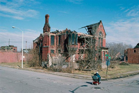 Улица Детройта. Взлёт и падение Детройта. Detroit - дом Eminem