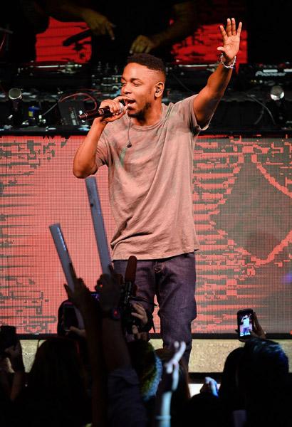 Kendrick Lamar Live at CES