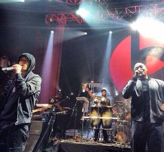 Eminem, Dr. Dre, Beats Music Launch Party