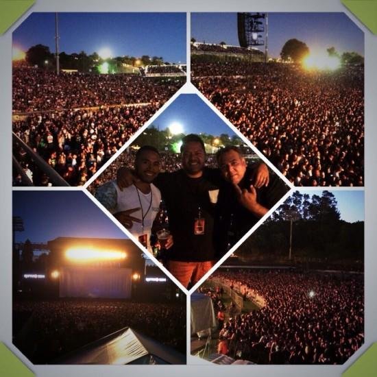 2014.02.14 - 11 Rapture 2014 фото фанатов. Эминем выходит на сцену