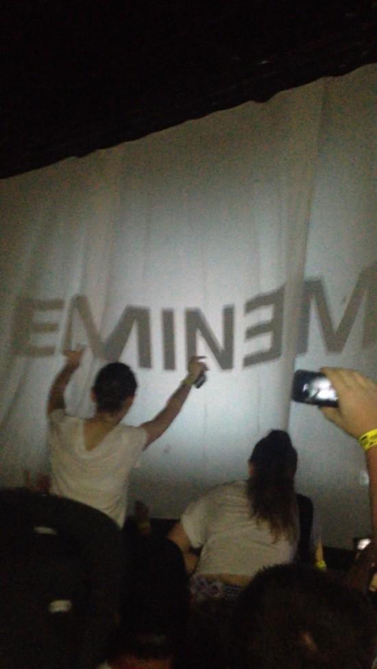 2014.02.20 - 14 Brisbane Australia, Rapture 2014 Suncorp Stadium Eminem