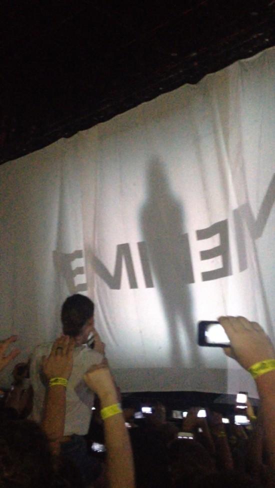 2014.02.20 - 18 Brisbane Australia, Rapture 2014 Suncorp Stadium Eminem