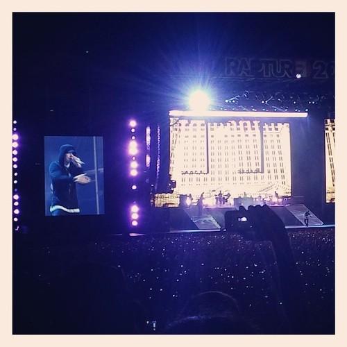 2014.02.20 - 20 Brisbane Australia, Rapture 2014 Suncorp Stadium Eminem